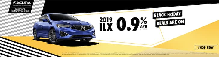 2019 Acura ILX .9% APR Black Friday Deal!
