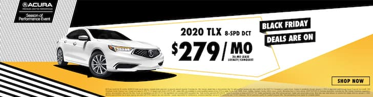 2020 Acura TLX Black Friday Lease Deal!