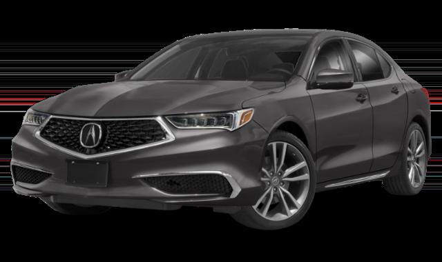 Gray 2020 Acura TLX
