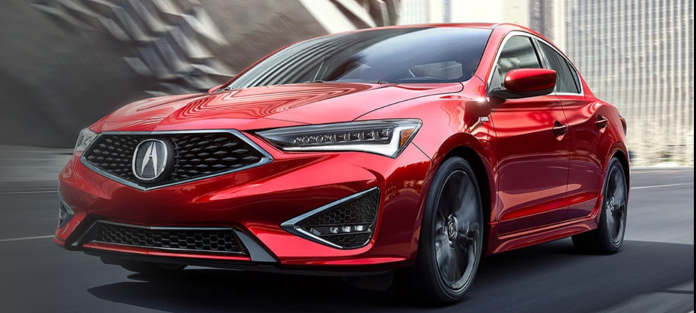 Red 2020 Acura ILX