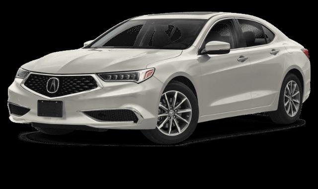 White 2020 Acura TLX (1)
