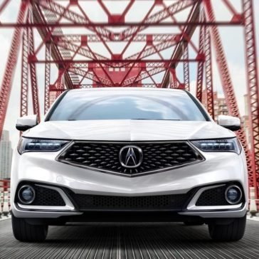 2018 Acura TLX Front view