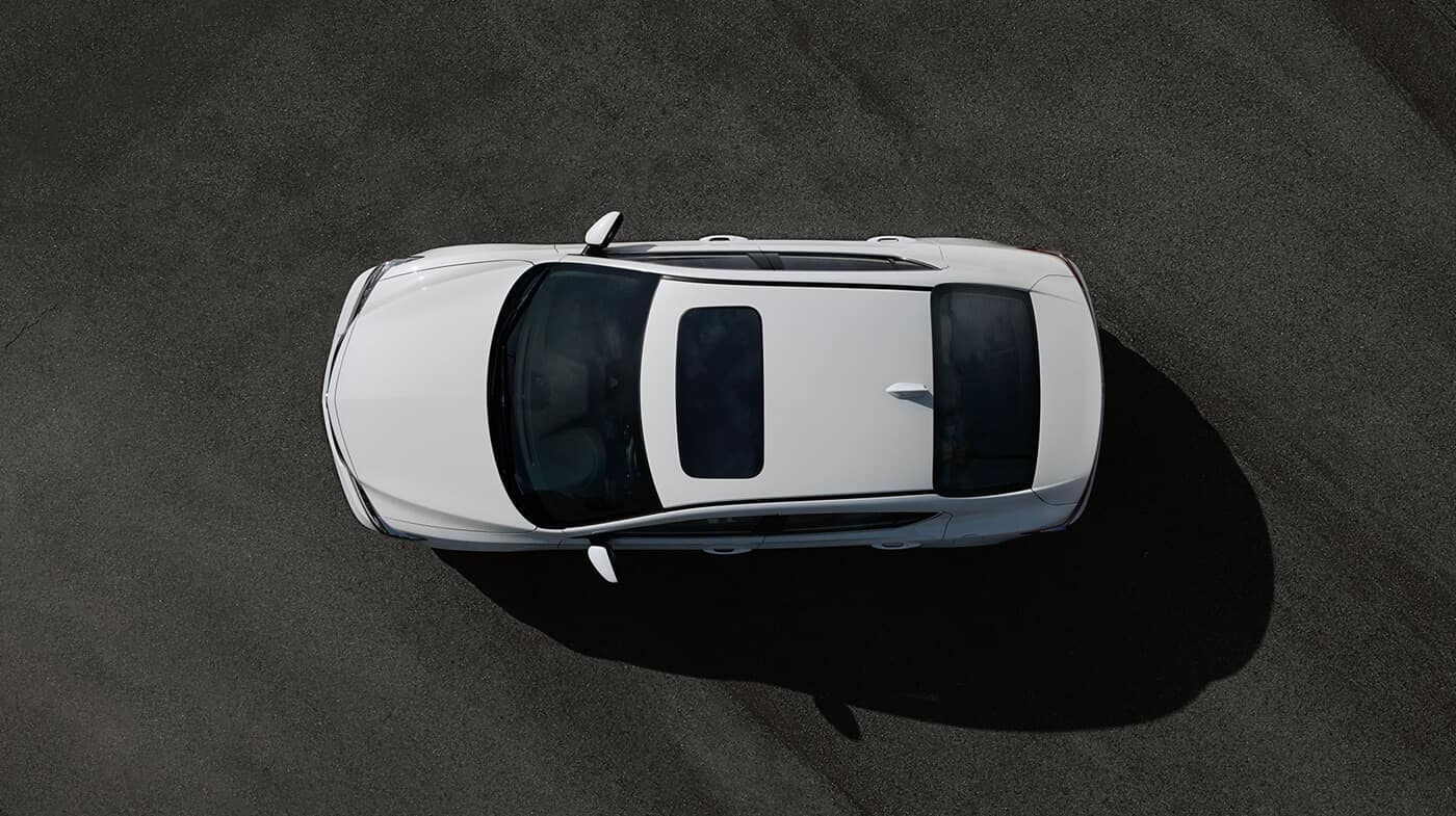 2018 Acura ILX Parked Top View