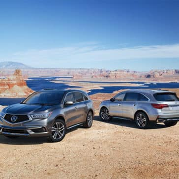 2018 Acura MDX Advance Pkg Two Vehicles