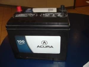 Acura battery