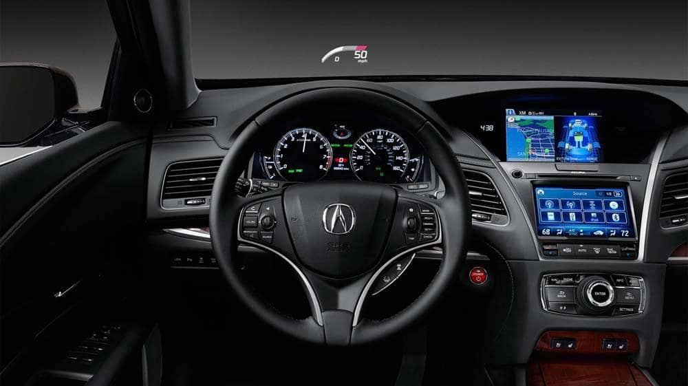 2018 Acura RLX Interior Steering wheel with HUD