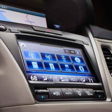 2018 Acura RLX Touch screen and entertainment system