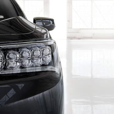 2018 Acura RLX Headlight detail