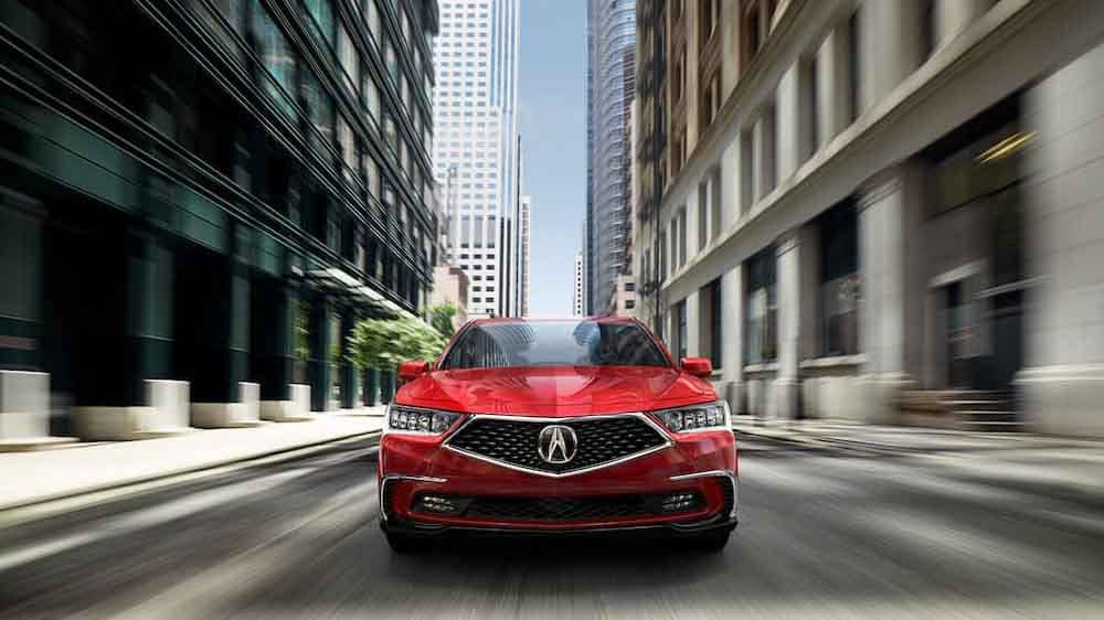 2018 Acura RLX front view driving