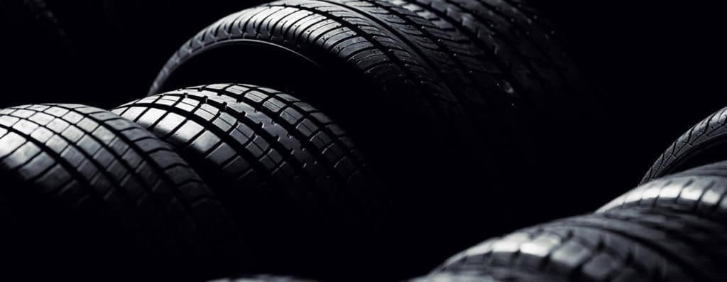 Row Of Tires