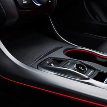 2019 Acura TLX illuminating red lighting