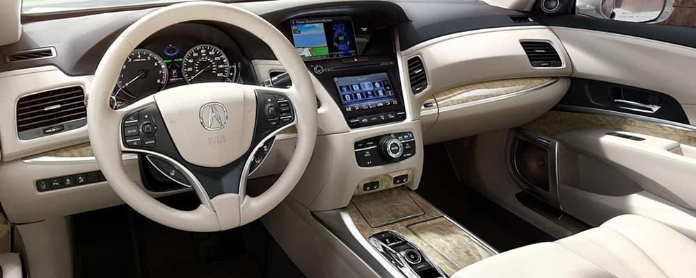 2019 Acura RLX seacoast interior