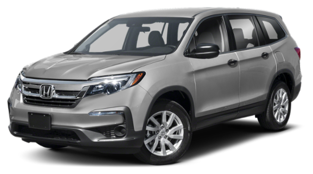 2019 Honda Pilot LX Grey copy