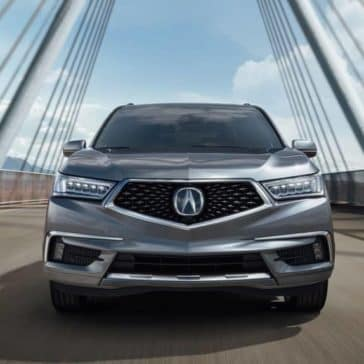 2019 Acura MDX Driving Front End View