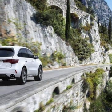 2019 Acura MDX Driving