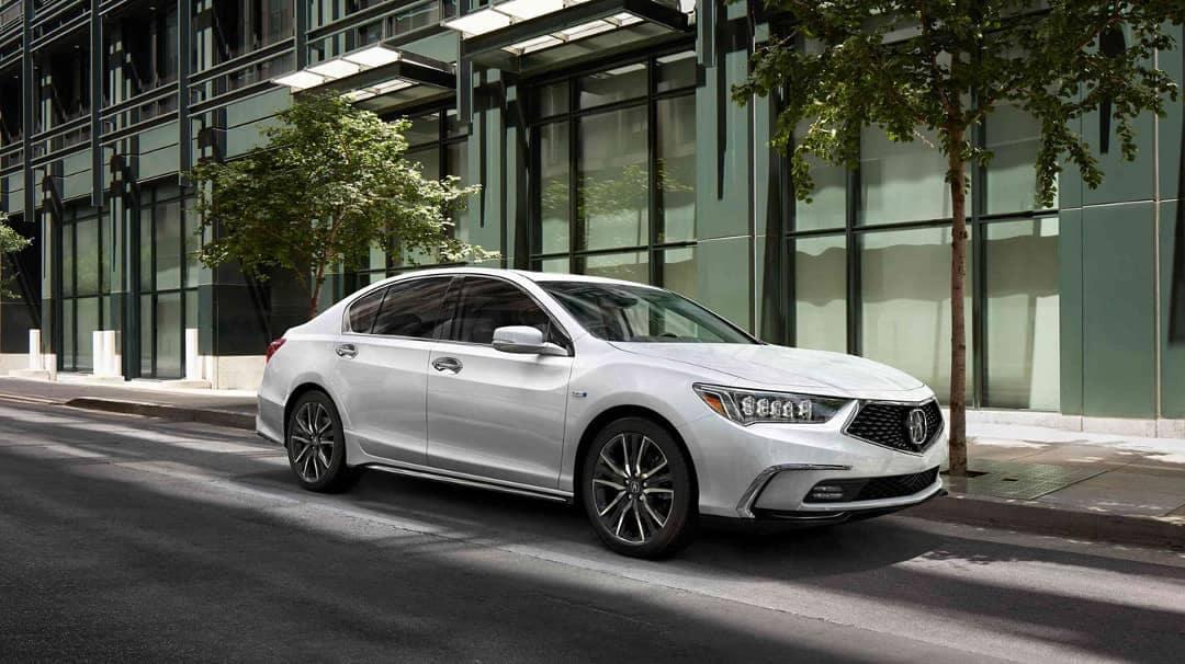 parked 2019 Acura RLX