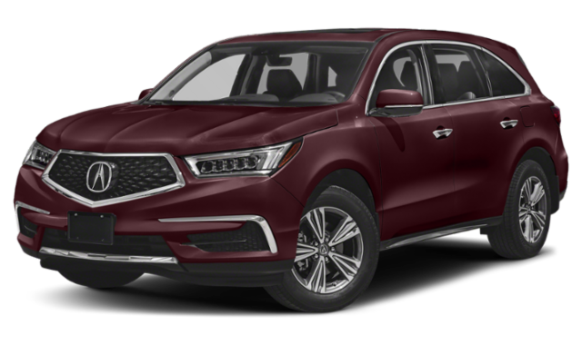 2019 acura mdx red