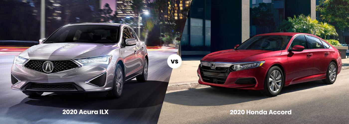 2020 Acura ILX vs 2020 Honda Accord