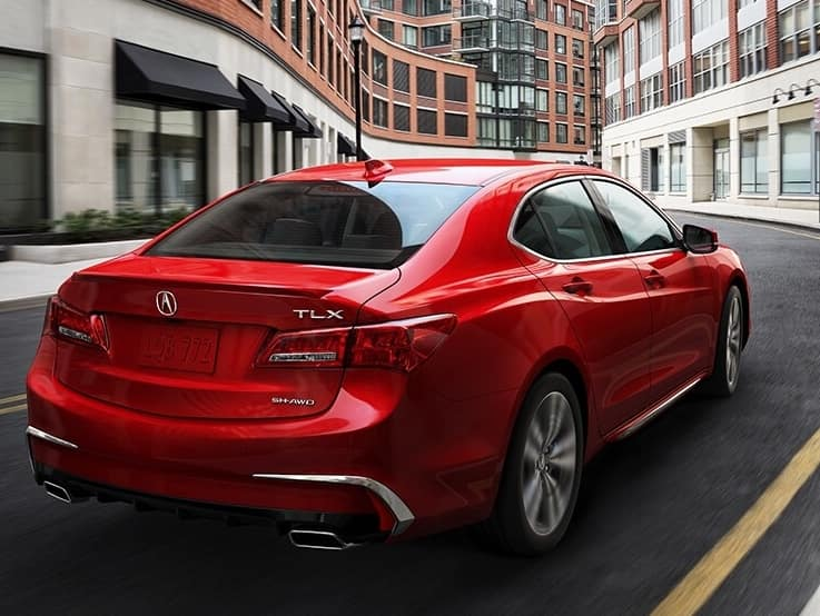 2020 acura tlx red