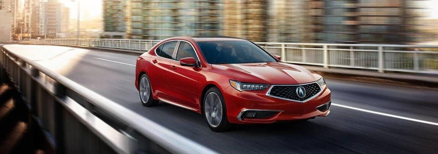 2020 red acura tlx