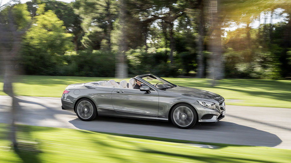 Discover The New 2017 Mercedes Benz S 550 Cabriolet
