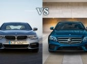 The 2017 Mercedes-Benz E-Class vs. the 2017 BMW 5 Series