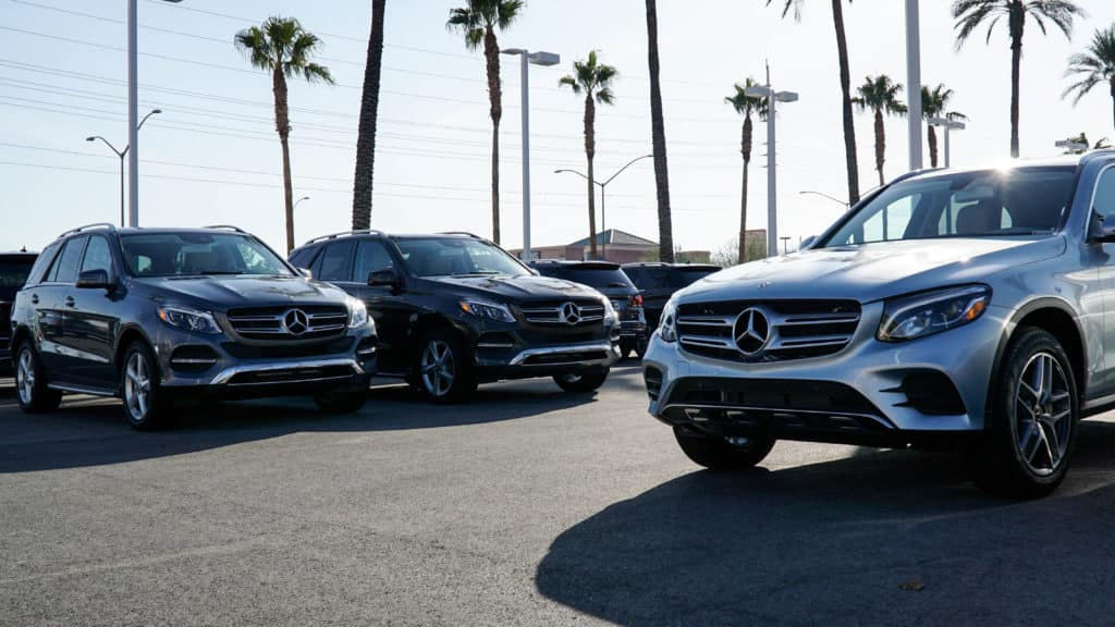 Mercedes-Benz SUV Line up