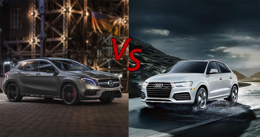 Audi Vs Mercedes >> 2018 Mercedes Benz Gla Vs 2018 Audi Q3 Fletcher Jones Imports