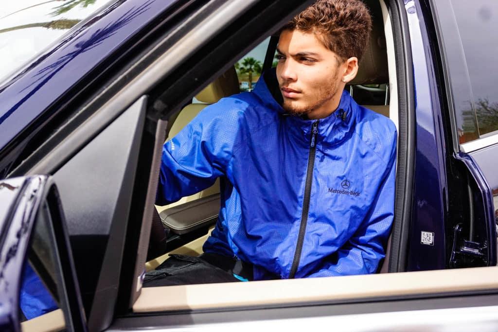 Service Technician In Car