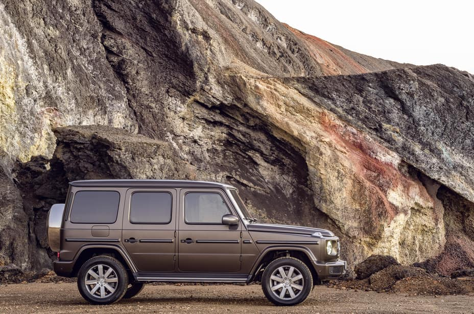 G-Class In front of mountains