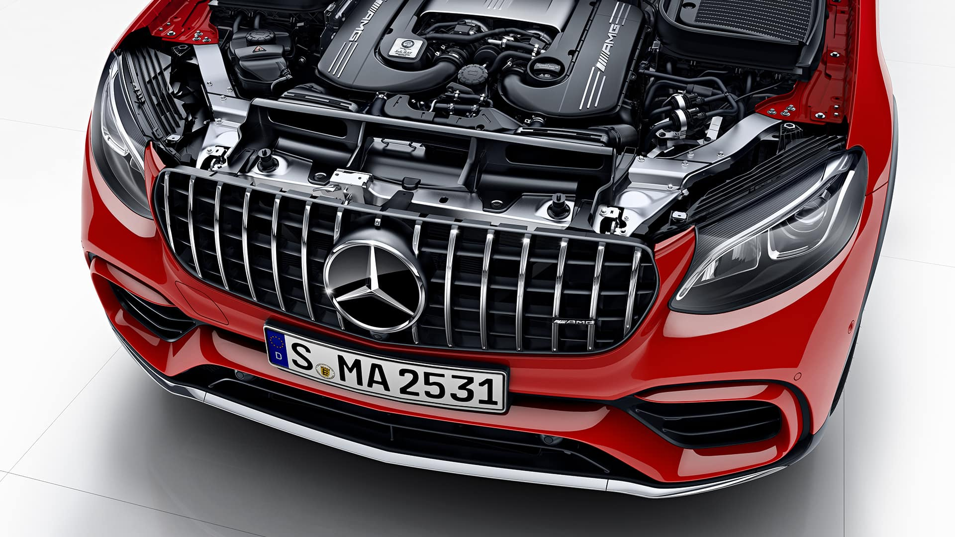 2018 Mercedes-AMG GLC 63 Coupe