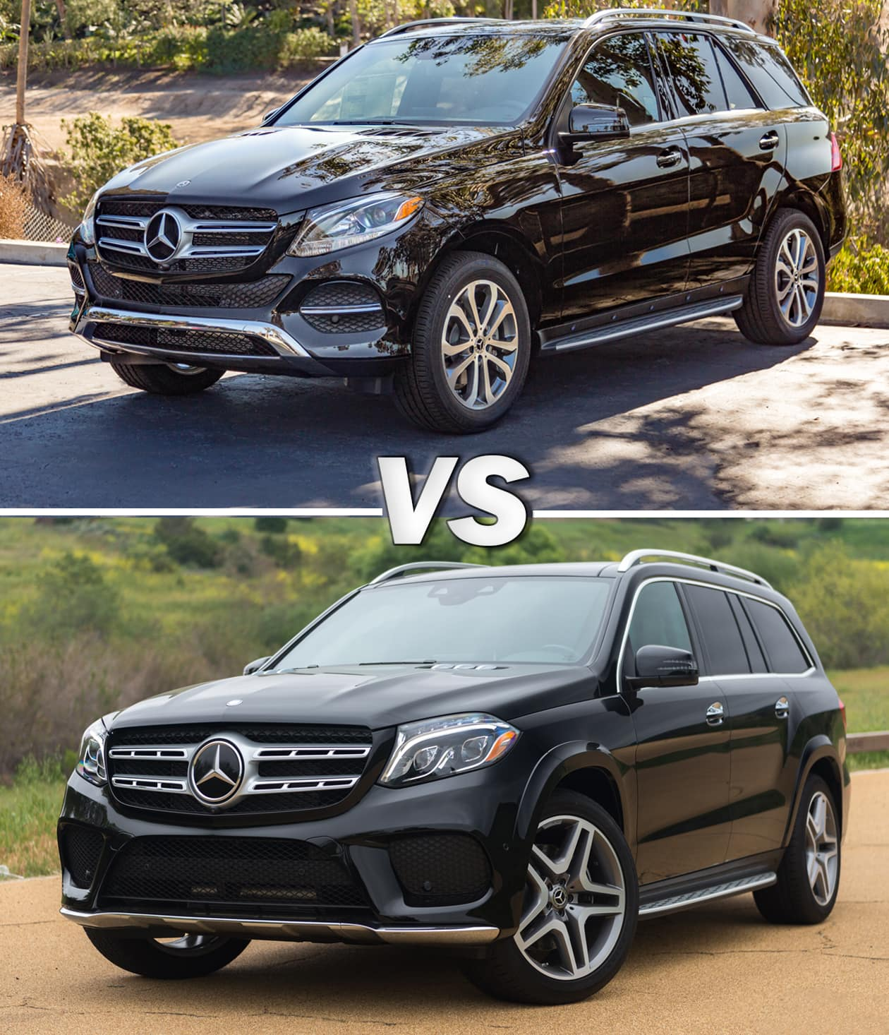 2018 Mercedes-Benz GLE vs 2018 Mercedes-Benz GLS_Black