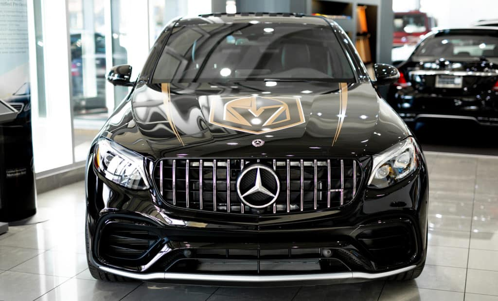 Vegas Golden Knights Mercedes-AMG GLC 63 Coupe