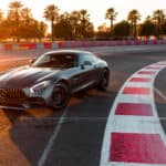 Mercedes-AMG GT on racetrack