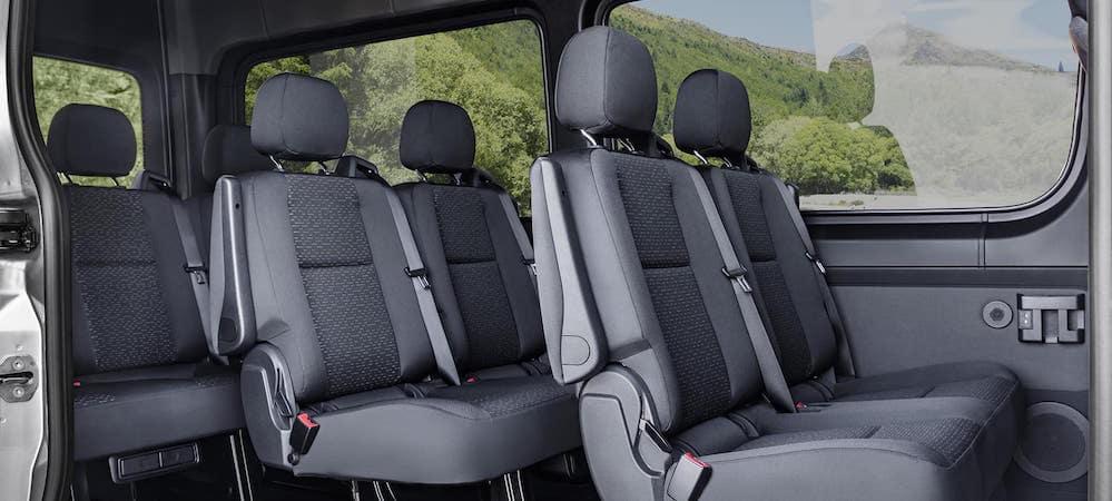 How Many Kids Fit Inside The Sprinter Passenger Van Sprinter Seats