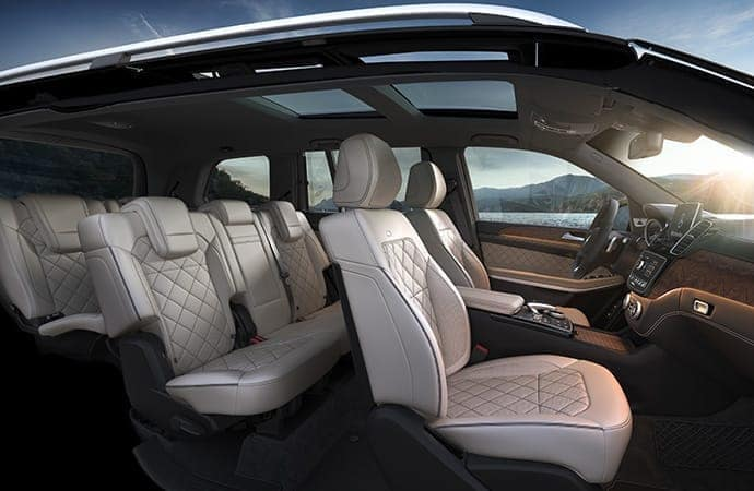 2019 Mercedes-Benz GLS SUV Interior