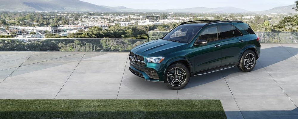 2020 Mercedes-Benz GLE parked