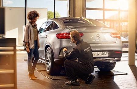 Mercedes-Benz Tire Maintenance