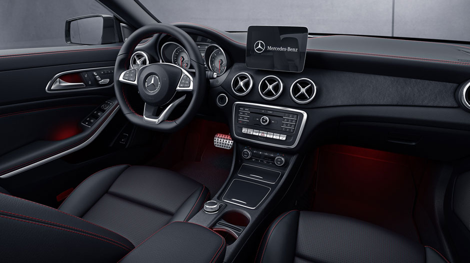 Drive In Style Inside The 2018 Cla Coupe Mb Of Henderson