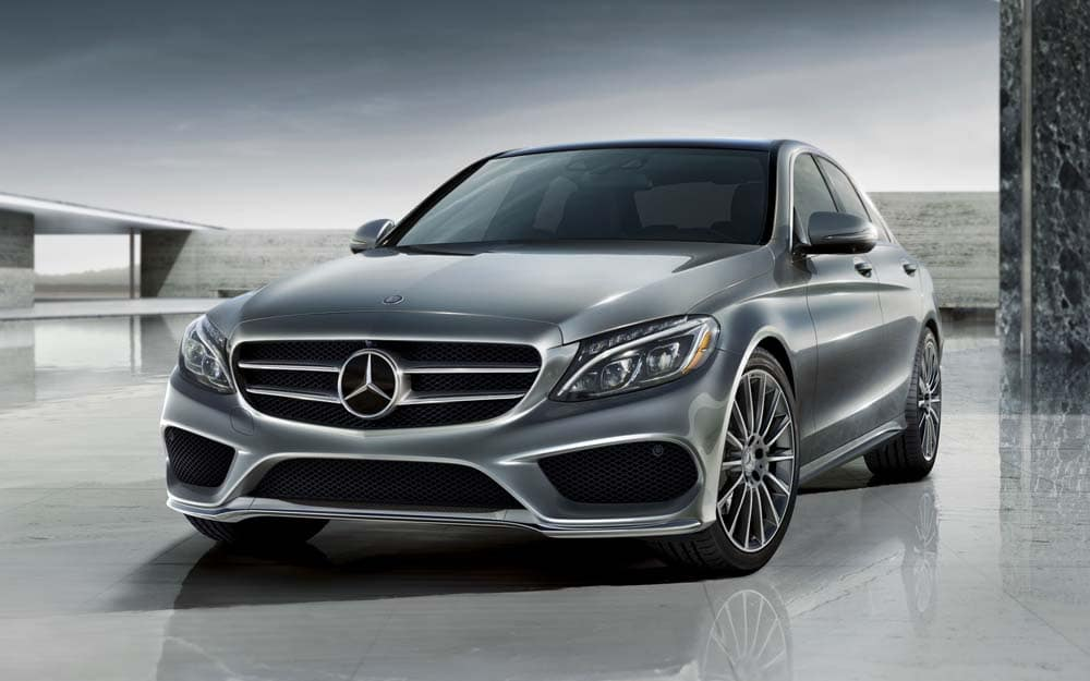 The ultra sleek 2018 mercedes benz c class family for Mercedes benz henderson
