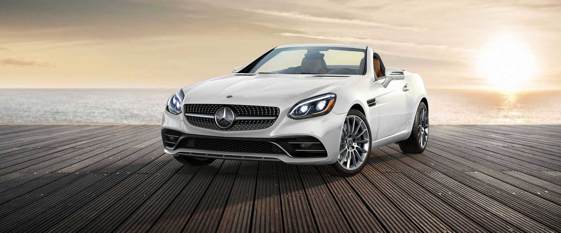 Hit the highway in a 2018 mercedes benz slc 300 roadster for Mercedes benz henderson