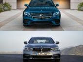 2017 Mercedes-Benz E-Class vs. BMW 5 Series