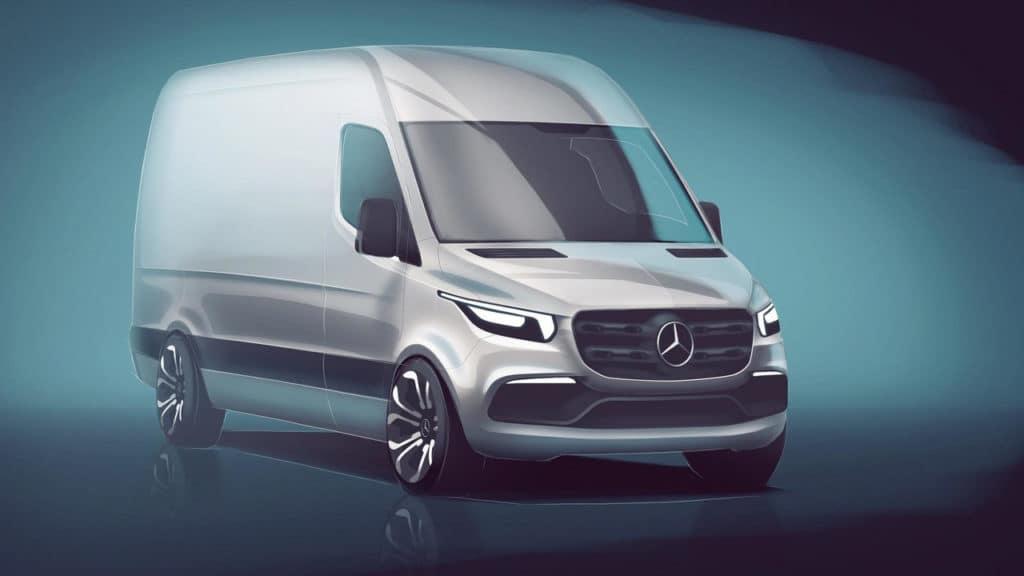 2018 Mercedes-Benz Sprinter Render