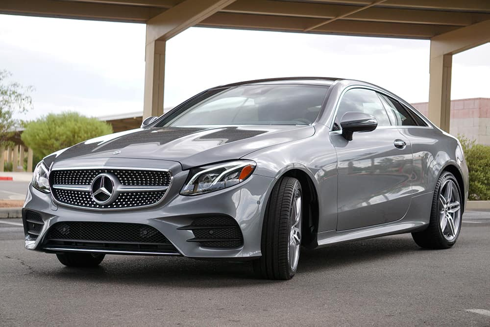 9 features in the 2018 mercedes benz e 400 coupe for Henderson mercedes benz