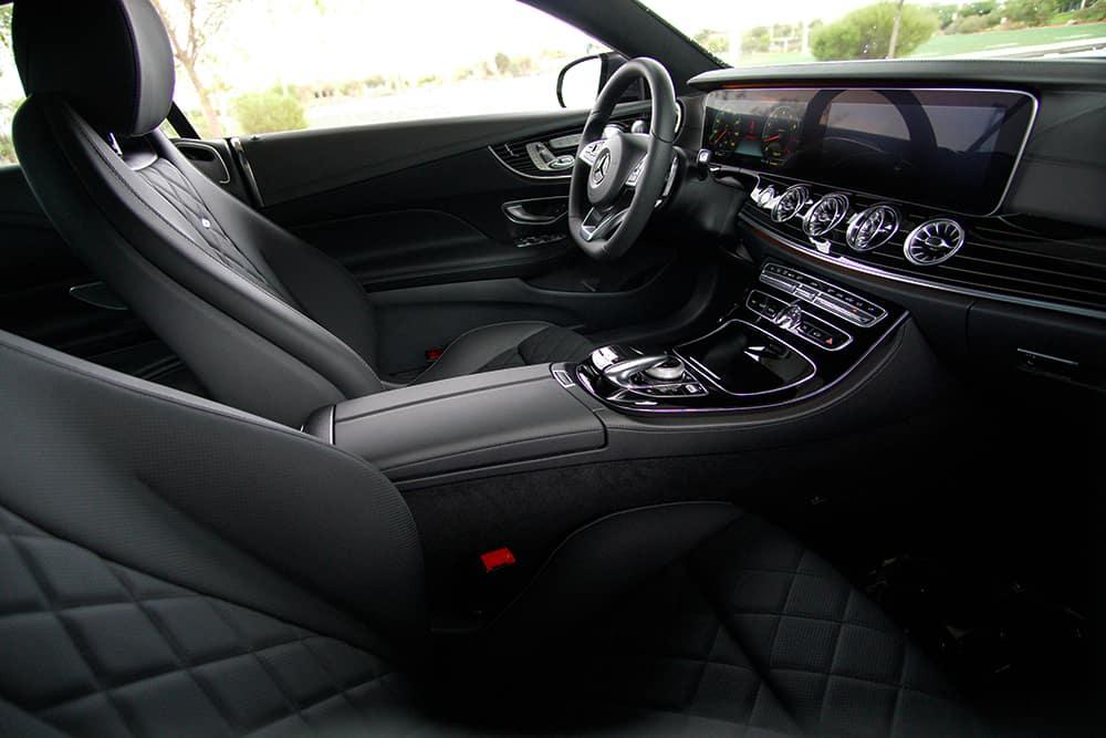 Mercedes-Benz E 400 Coupe Interior