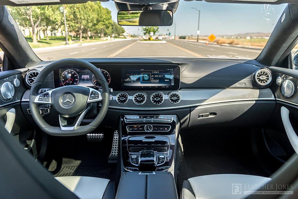 Mercedes-Benz E 400 Coupe Interior 2