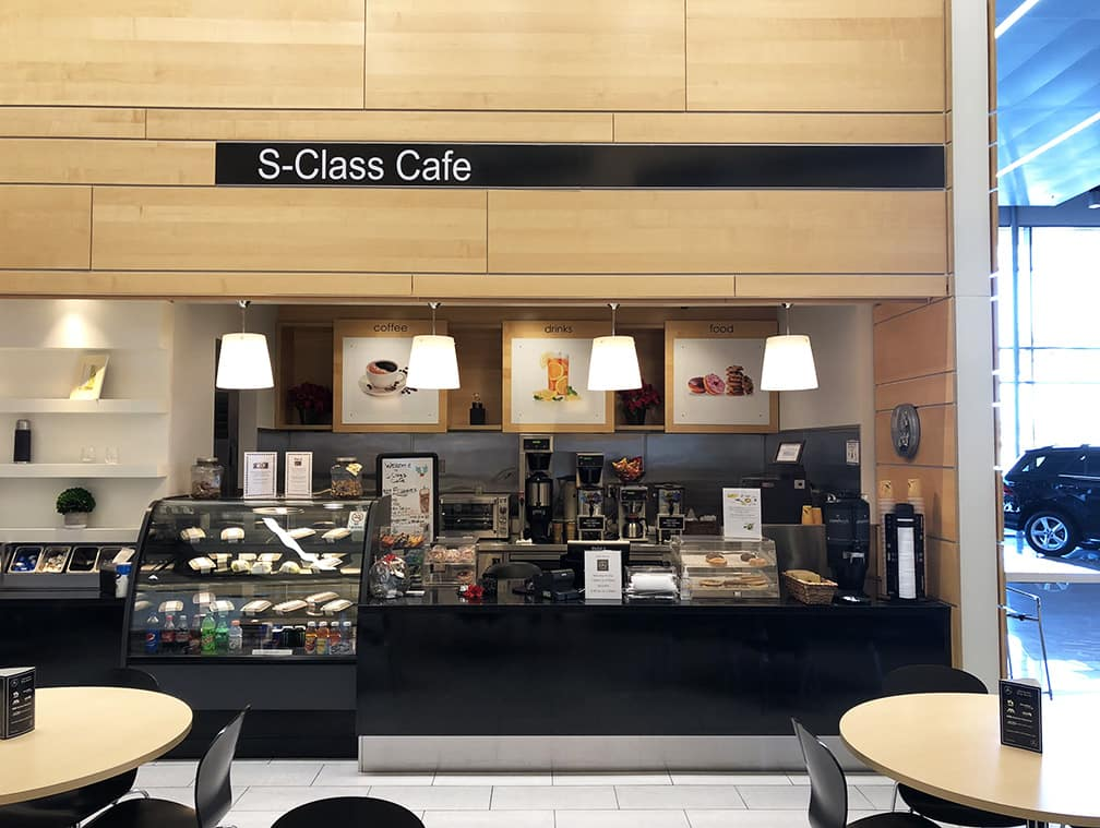 Mercedes benz of henderson s class caf introduces new menu for Henderson mercedes benz