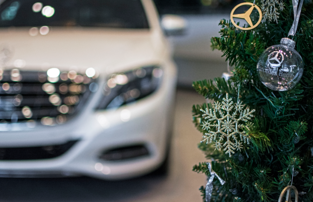 Mercedes-Benz Christmas Tree