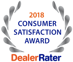 DealerRater Consumer Satisfation Award 2018