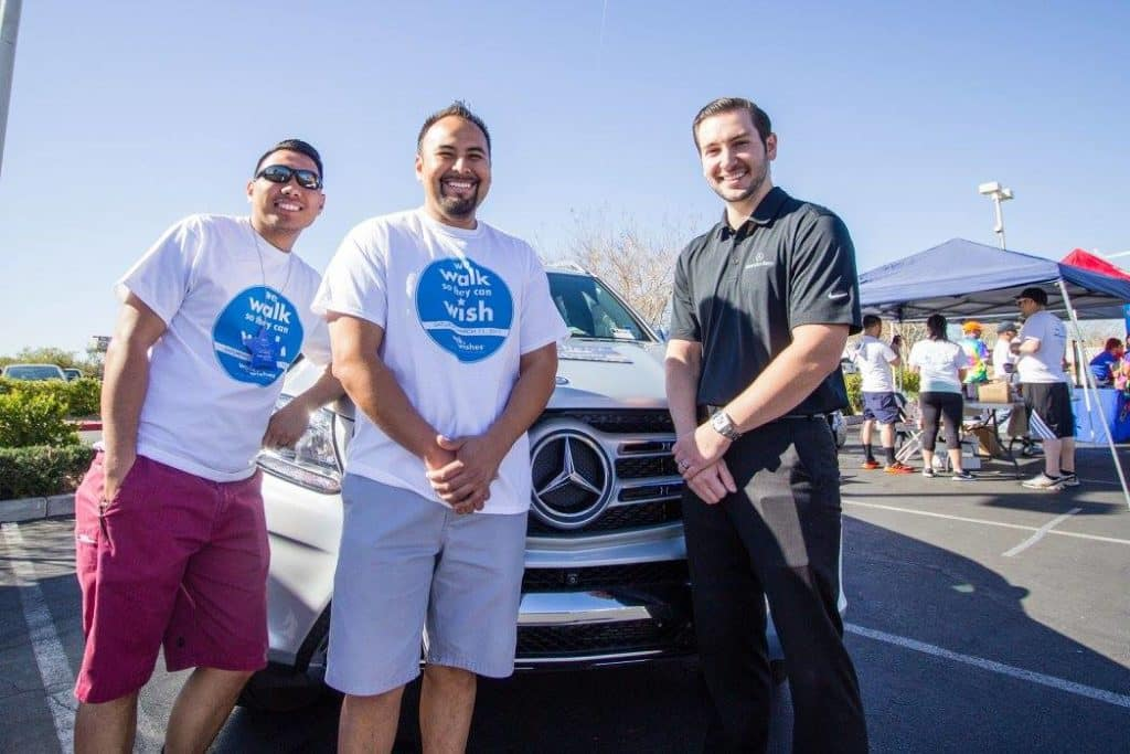 Mercedes-Benz of Henderson Walk for Wishes